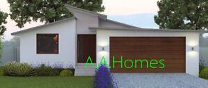 Sophia - 4 bedroom Prefabricated steel frame Completion Kit Home.