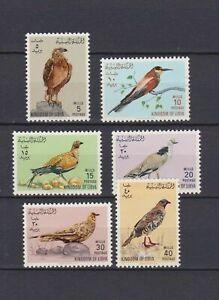 s16435) LIBYA LIBIA  MNH** Nuovi** 1965 Birds 6v