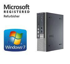 DELL Windows 7 Professional Intel Dual Core 2 Fast Desktop Computer WiFi DVD 64