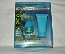 2pc Set NIB Club Med my ocean for Her eau de toilette spray .33 + body lotion