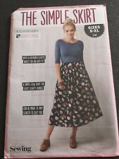 The Simple Skirt Simply Sewing Pattern Uncut sizes S-XL