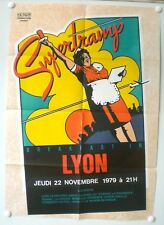 SUPERTRAMP - AFFICHE ORIGINALE – BREAKFAST IN LYON - RARE – 1979