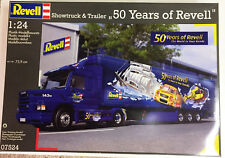 """Revell Germany 1/24 Scania 143M w/ trailer """"50 Years of Revell"""""""