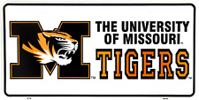 "Univerisity of Missouri Tigers Football 6""x12"" Aluminum License Plate Tag"