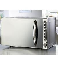 800W EGL 20L Litre Mirror Front Microwave Digital Countertop Kitchen NEW SILVER