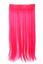 Postiche EXTENSION LARGE CHEVEUX 5 clips LISSE ROSE FLUO yzf-3177-tf2315
