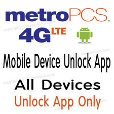 METROPCS APP UNLOCK LG K10 K20 Plus K7 Aristo Leon MS428 MP260 MS330 MS210 MS345