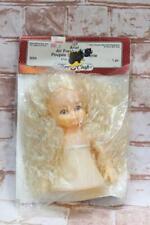 "Fibre Craft Air Freshener Doll 3055 Blonde Curly Hair Blue Eyes ARIEL 5 3/4"""