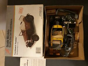 Vintage Hubley Junkyard Barn Find Parts Pieces Model A Coupe Phaeton In Chicken