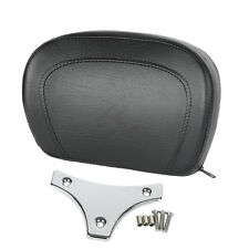 Sissy Bar Backrest Pad & Bracket For Harley Touring FLHX FLHTCU 97-17 11 12 13