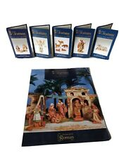 Fontanini by Roman Christmas Nativity Replacement Booklets Pamphlets 2011