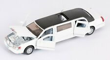 Lincoln Town Car Stretch Limousine 1999 Hochzeit weiss Modell Auto 1:38 KINSMART