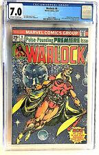 Warlock # 9 CGC 7.0