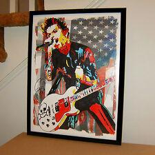 Billie Joe Armstrong, Green Day, Singer, Guitar Player, Punk, 18x24 POSTER 2