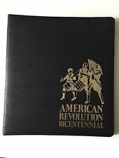 15 First day cover postcards In Fletwood album American Revolution Bicentennial