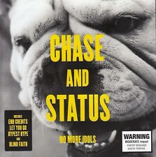CHASE and STATUS No More Idols CD - New    SirH70
