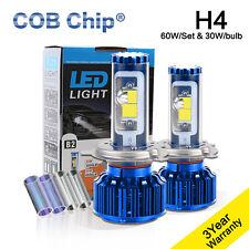 Popular H4 60W 10000Lm LED Headlight Kit Hi/Low Beam For Nissan Navara D22 D40