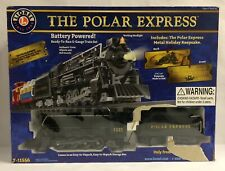 Lionel Polar Express Battery Powered Train, Used Once, No Ornament, See Descrip.