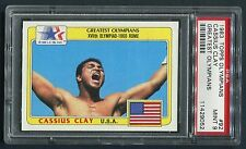 Lot of (5) Cassius Clay Ali Rome Olympics 1983 Topps Greatest Olympians 92 PSA 9