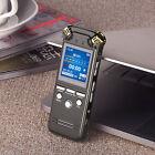 16GB/8GB Spy Hidden Mini Digtal Audio Voice Recorder Dictaphone HIFI MP3 Player