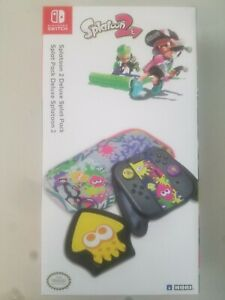 New Splatoon 2 Deluxe Splat Pack for Nintendo Switch by Hori