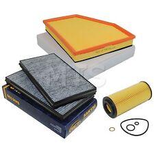 Innenraumfilter Pollenfilter Ölfilter Luftfilter BMW E60 E61 535d 272PS 200KW