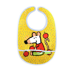 Maisy Mouse Apples Bib