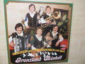LP GRENZLAND QUINTETT - BERGFEST AM DREILÄNDERECK - TYROLIS