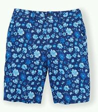 Boys Ralph Lauren chino shorts blue Chilmark Floral Size 3T  Age 2 - 3 designer