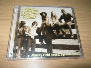 The Gillman Brothers Band Manley Field House Syracuse NY CD - Brand New Sealed