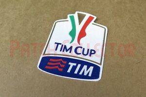 Italy TIM Cup 2010 - 2015 Sleeve Velvet Soccer Patch / Badge