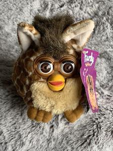 Vintage 1999 Furby Buddies Beanbag Stuffed PLUSH Giraffe (not A Talking Furby)