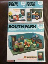 McFarlane South Park Kyle Cartman & Mr Garrison CLASSROOM CONSTRUCTION SET New