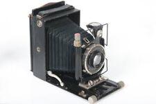 Voigtlander Bergheil (green) 9x12cm Plate Camera, 135mm f/4.5 Heliar lens