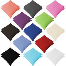 2er Pack Renforce Kissenbezüg Kopfkissenbezug Dekokissen 80-50-40 100% Baumwolle