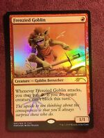 Frenzied Goblin FNM FOIL PROMO   VO  -  MTG Magic (Mint/NM)