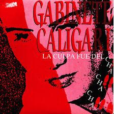 GABINETE CALIGARI-LA CULPA FUE DEL CHA CHA CHA SINGLE VINILO 1990 SPAIN