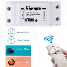 Sonoff WiFi Wireless Smart Switch Module Socket Remote Compatible Alexa/Google