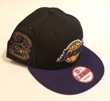 New Era NBA Los Angeles Lakers Snapback Hat Kobe 5-Time Champion NEW MENS