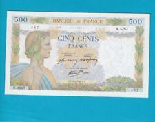 Billet 500 Francs La Paix - 02-01-1942