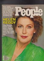 People Magazine Helen Reddy Benny Goodman January 23 1978 Free S/H