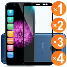 For Samsung Galaxy A6 (2018) Full Coverage Tempered Glass Screen Protector Phone