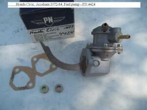 Honda Civic, Triumph Accalaim 1972-84. New Fuel pump - PN 4424