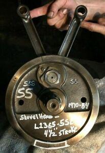 """S&S Cycle Flywheel for Shovelhead - 4-1/4 stroke for '55-'81 - 8 1/2"""" Diameter"""