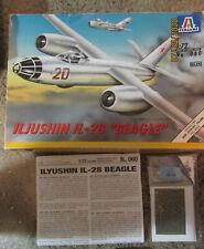 1/72 Italeri Il-28 Beagle (Miob) & Eduard Il-28 Canopy Mask