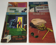 Vintage, Treasure Chest Comics Of Fun And Fact. Lot  Of 6 1967/68.