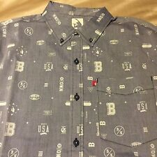 New Brooklyn's Own Rocawear Men's Button Down Shirt Size X-Large NWT Mens sz XL