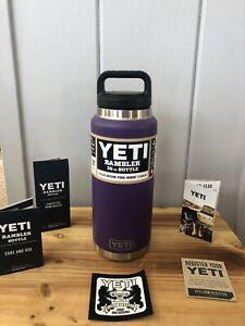 Brand New YETI Rambler 36oz Peak Purple Bottle