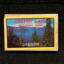Vintage Crater Lake National Park Oregon Mini Souvenir Playing Cards Sealed