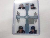 2014-15 UD Frozen Foursome Kings Quick Doughty Authentic Jersey Card jh1